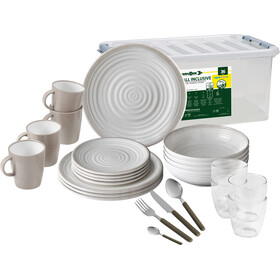 Brunner All Inclusive Dishes Set 36 Pieces, design savana